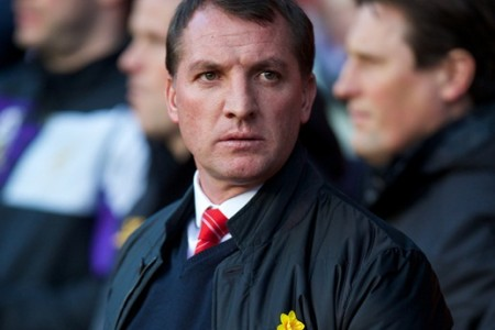 SOUTHAMPTON, ENGLAND - Saturday, March 1, 2014: Liverpool's manager Brendan Rodgers before the Premiership match against Southampton at St Mary's Stadium. (Pic by David Rawcliffe/Propaganda)