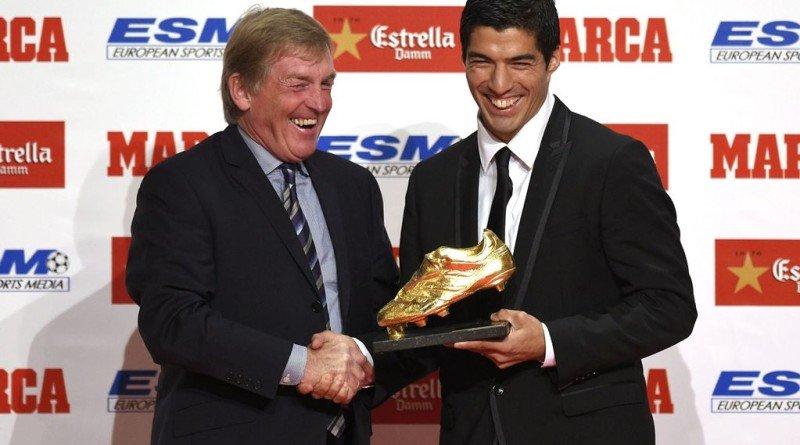 Dalglish Suarez Golden Boot