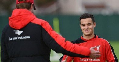 Philippe Coutinho Could Return for League Cup Quarter-Final