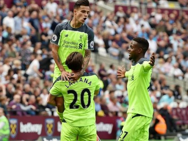 West Ham United (0) Liverpool (4): Reds One Win Away from Securing Top Four Finish