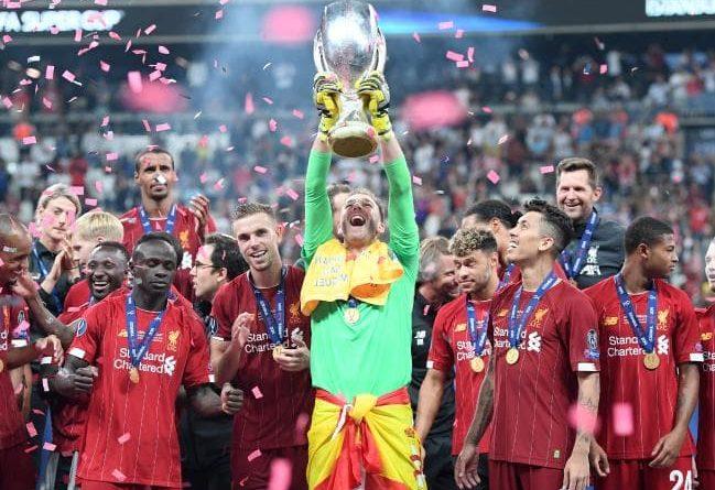 Liverpool European Super Cup 2019