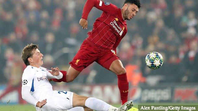 Sander Berge Genk vs Liverpool