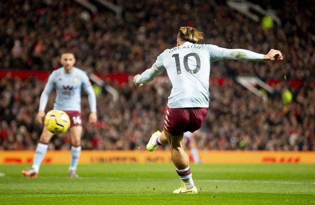 Jack Grealish strike vs Man Utd