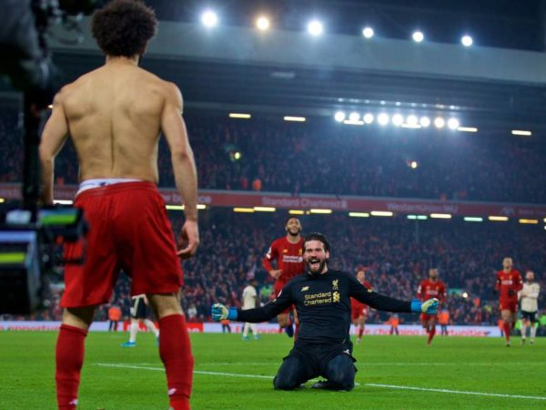 Stars shine – Liverpool player ratings vs Man United