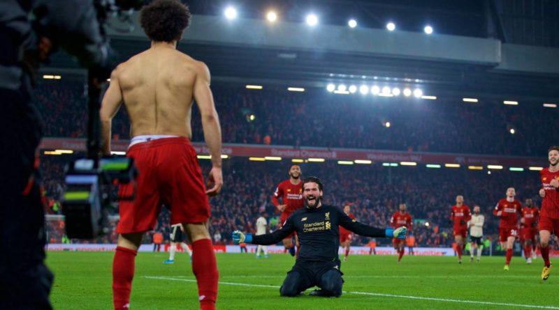 Alisson Salah Liverpool