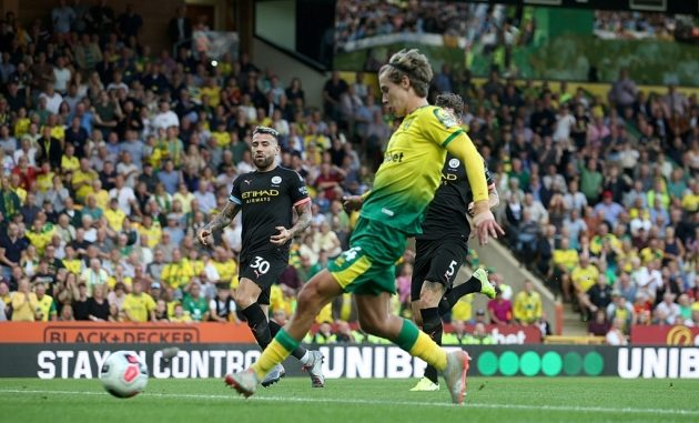Todd Cantwell Norwich City vs Man City