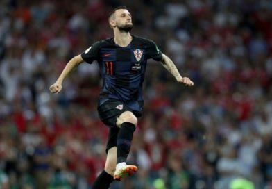 Croatian play breaker Marcelo Brozovic