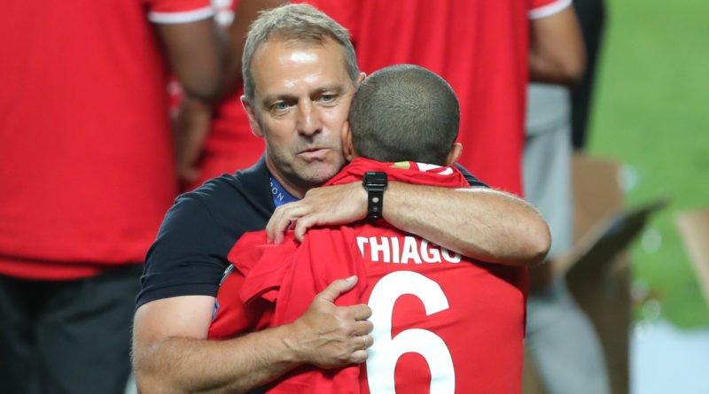 Thiago Champions League winner