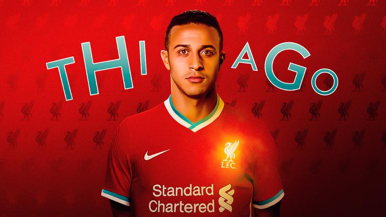 Thiago Alcantara Liverpool FC