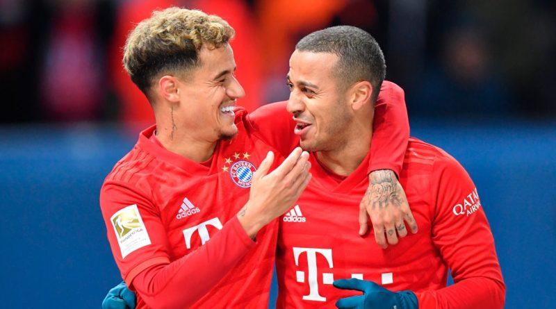 Thiago and Coutinho - Bayern Munich