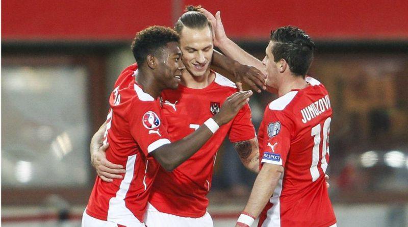 David Alaba Austria and Bayern Munich star